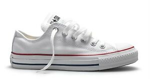 Details about Converse All Star Chuck Taylor OX 3J256 Optical White Preschool Shoes