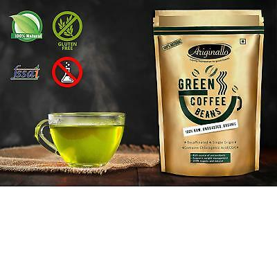 Ariginallo Premium Organic Green Coffee Beans For Weight Loss 350g