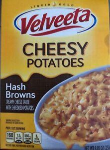 Kraft Velveeta Cheesy Potatoes Hash Browns One 8 85 Oz Box Ebay