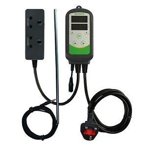 UK-plug-ITC-308S-Digital-Temperature-Controller-brewing-30cm-long-probe-beer