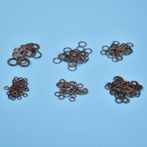 A Box Mixed Size 4//5//6//7//8//10mm Stainless Steel Open Jump Rings For Jewelry DIY