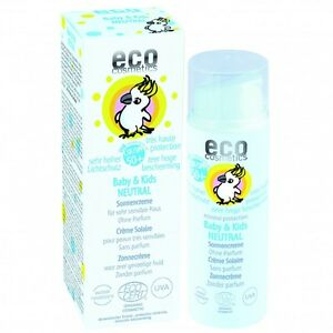(27,98 €/100ml) eco cosmetics Baby & Kids Sonnencreme LSF 50+ 50 ml, *MHD*