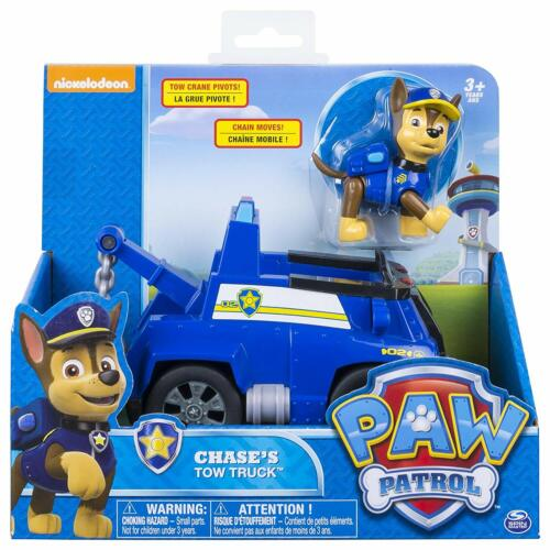 PAW Patrol Basic Véhicule et Figurine-Chase Tow Camion Brand New *