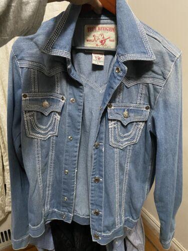 true religion jackets men's