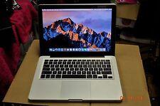 Apple MacBook Pro Core i5 2.3ghz 4 gb ram 320gb HHD OS Sierra 10.12 A1278