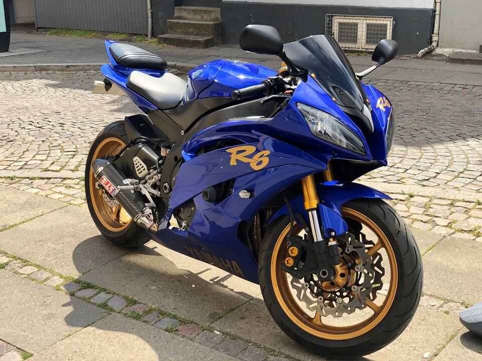 Yamaha, Yamaha R6, 600 ccm