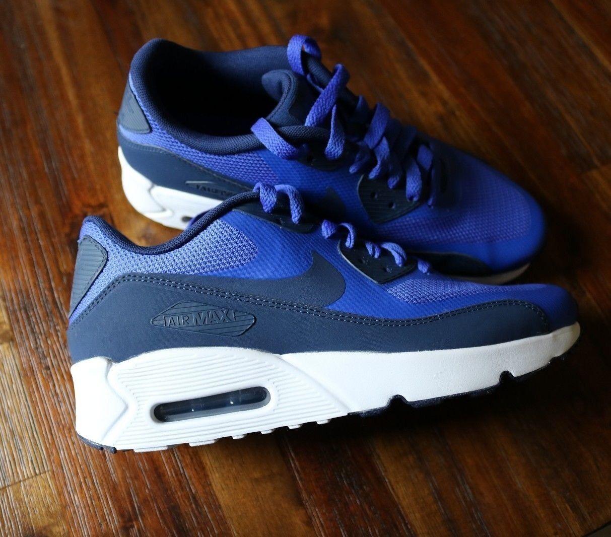 Nike Grade Iskola Air Max 90 Ultra 2.0 6.5y méretű kék fehér [869950-401]