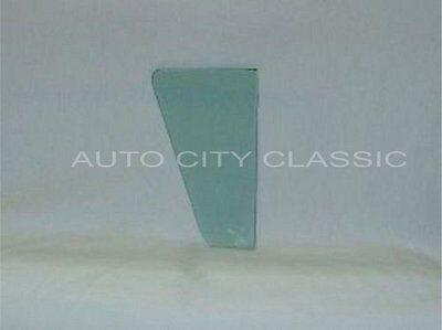 Front Door Glass Green Tint 1957 1958 Ford Fairlane 500 4 Door Hardtop LH or RH