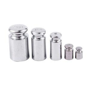 Gewicht-Set-1G-2G-5g-10g-20g-Chrome-Plating-Kalibrierung-Gramm-Gewichtsstei-G4H7