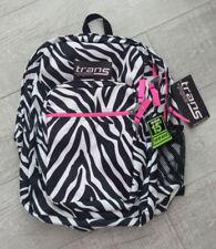 JanSport Black and White Tiger 36l 2200 CU Laptop Supermax Adj Backpack