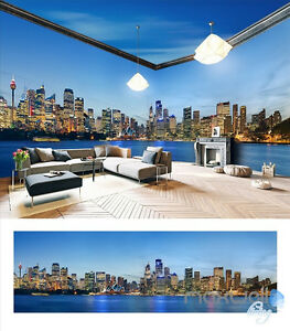Sydney city Opera house theme entire room 3D wallpaper wall mural decals