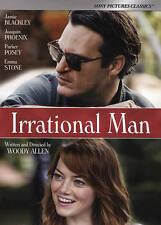 Irrational Man WOODY ALLEN EMMA STONE USED VERY GOOD DVD