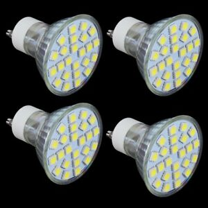 4PCS-GU10-LED-Spotlight-24SMD-5050-110V-White-Warm-White-Bulb-Lamp-US-MY