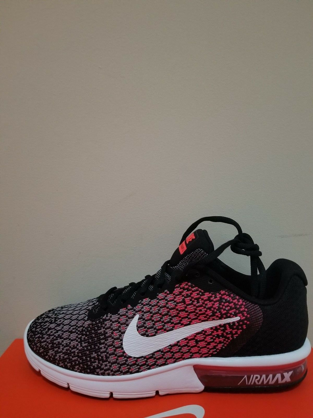 New Nike Women's Air Max Sequent 2 Running shoes Size 6 NIB