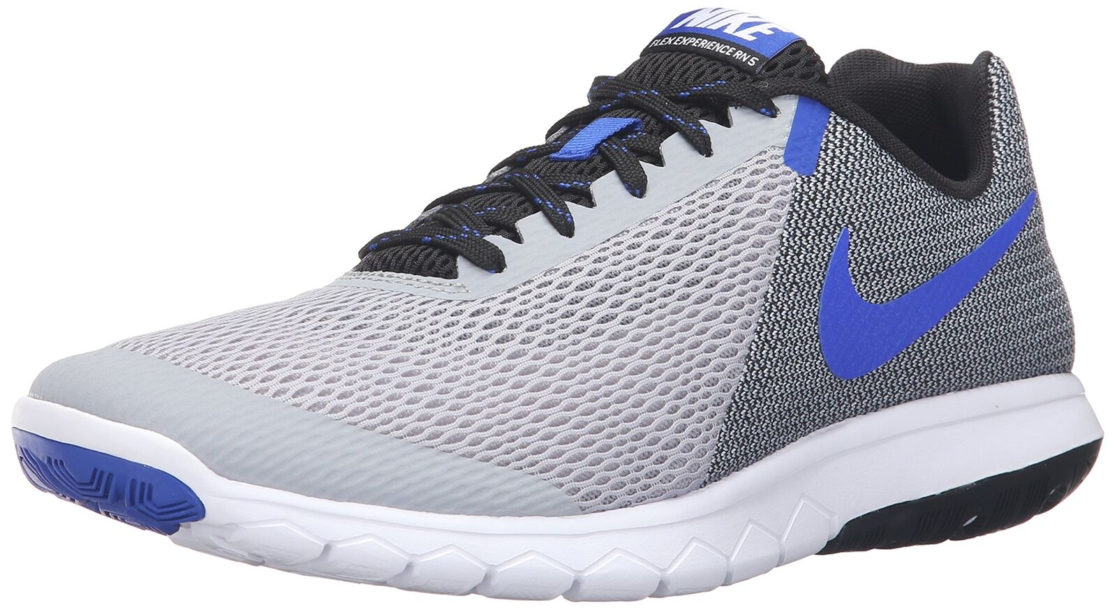 Nike Flex Experience RN 5 Running shoes Wolf Grey Racer bluee Black Whi 13