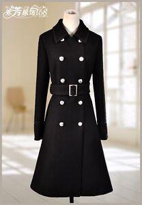 Sort Style Military Wool Medium Coat qxqRrYX