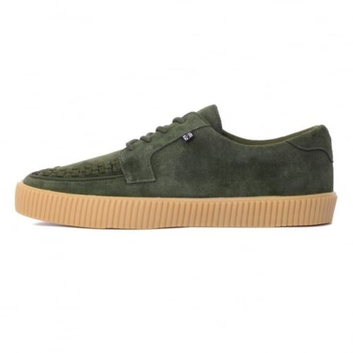 U Verde Sneaker New T Sole Creeper A9255 Gum Skater Shoes Men Suede K Rare 6q7BHw