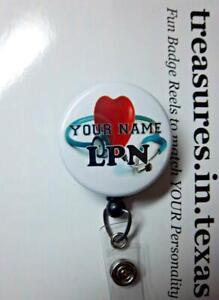 Lanyard Badge Reel LPNRN Stethoscope