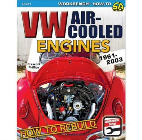 How to Rebuild VW Air-Cooled Engines Manual 1961-2003