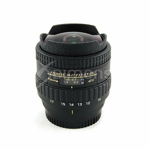 Tokina AF 10-17mm F/3.5-4.5 AT-X 107 DX Fish Eye Lens (Canon) migliore