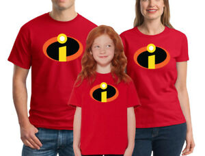 73117b174 Image is loading The-Incredibles-T-shirt-Disney-Family-Halloween-Costume-