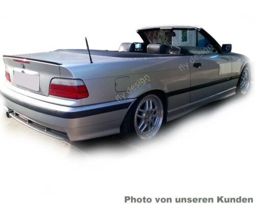 Spoiler Kofferraumklappe für BMW E36 CABRIO M Sport Paket Bodykit Look Heck Flüg