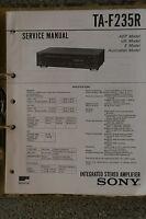 Service Manual für Sony TA-F235R