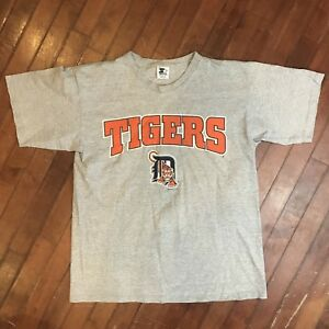 535b7f4b Vintage Detroit Tigers T-Shirt Retro 90s MLB Starter USA Mens Medium ...