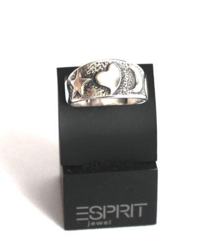 Anillo macizo plata 925 Sterling plata talla 18,8 banda anillo corazón 5,2 gramos 59