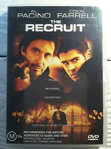 The-Recruit-DVD-Al-Pacino-Colin-Farrell-Action-packed-Psychological-Thriller