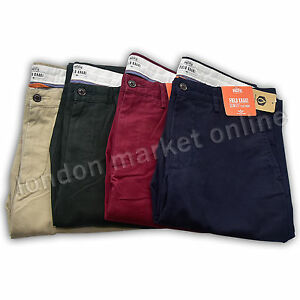 Dockers Original Levi S Slim Fit Plano Frontal Pacific Campo Pantalones De Color Caqui Pantalones Chinos Ebay