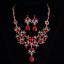Women-Fashion-Bib-Choker-Chunk-Crystal-Statement-Necklace-Wedding-Jewelry-Set thumbnail 34