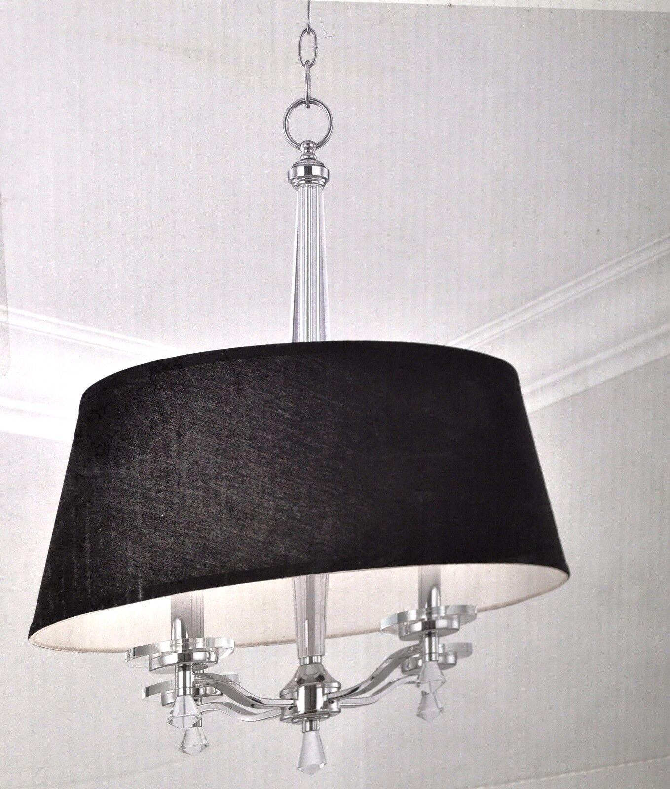 Elora Collection 4-Light Chrome Pendant