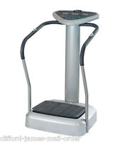 Body Vibration Plate | Home Fitness Workout Trainer Oscillating Platform Machine