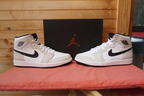wht Blk 1 839115 Platinum 1191 High 106 Retro 12 Pure Nike 2016 Jordan Sz 884726888681 Air B7wRqSS