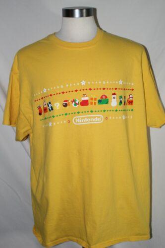 Nintendo Switch Mario Koopa Short Sleeve Yellow Sh