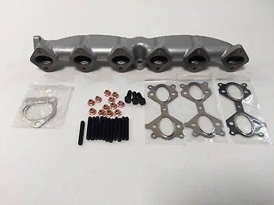 cast iron exhaust manifold bmw 3 series 5 7 x5 x3 e46 e60 e61 e65 e83 e53 ebay