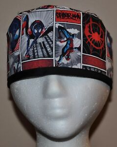 b011b13c5c7 Newest Style!!! Men s Marvel Superhero Spiderman Scrub Hat - One ...
