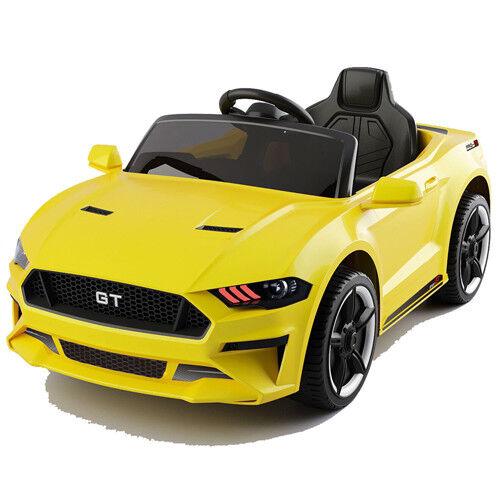 GT Raptor 2x Motoren Elektro Kinderauto Kinder Elektroauto m. Fernbedienung Gelb