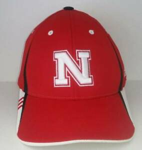 Nebraska-Cornhuskers-Cap-NCAA-Adidas-Licensed-Stretch-Fit