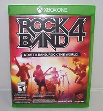 MINT Rock Band 4 Game Software Disc by Mad Catz (Microsoft Xbox One, 2015)