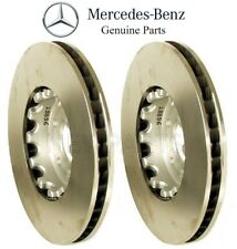 MDC1980 NEW MINTEX FRONT VENTED DRILLED BRAKE DISCS SET PAIR