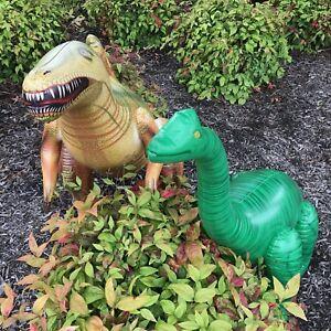 Inflatable Brachiosaurus Spinosaurus Dinosaur Model Jurassic Toy Party Gift Kids