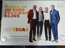 Las Vegas De Niro Freeman Douglas Original Film / Movie Poster Quad 76x102cm