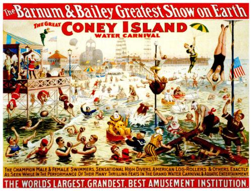 interior Art Decor.565 Vintage Circus POSTER.Style Graphic.Barnum Coney island