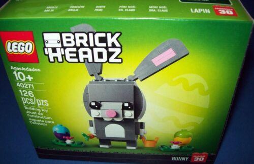 LEGO Seasonal Easter Bunny with Egg Brickheadz 40271 #30 NIB 2018