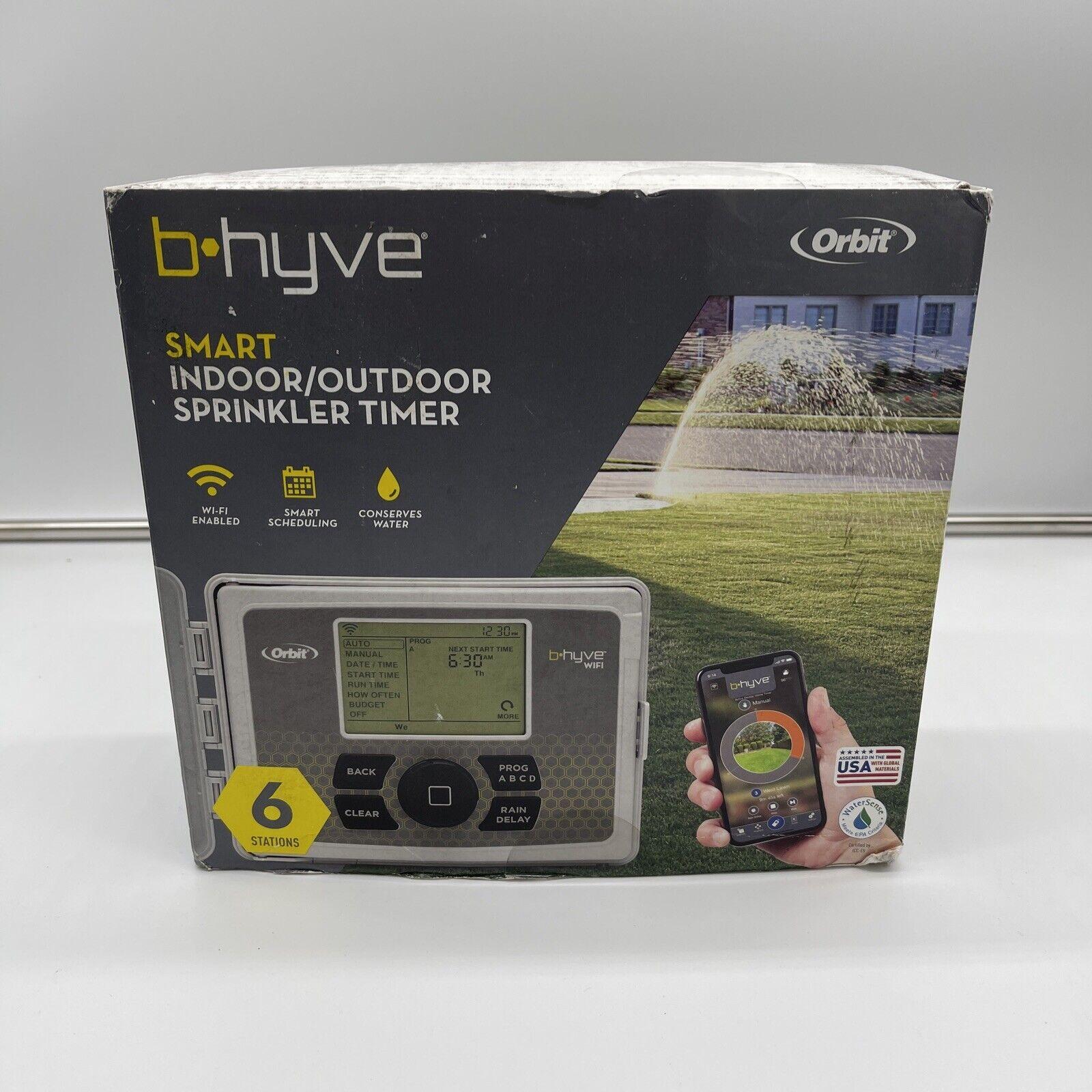 Orbit B Hyve Smart WIFI Sprinkler Timer 57946 For Parts or Repair
