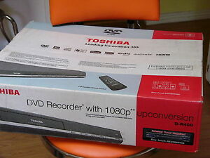NEW-Toshiba-D-R400-DVD-Recorder-Player-Tunerless-1080p-Upconversion-HDMI-Out