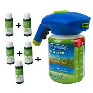 HOUSEHOLD-SEEDING-SYSTEM-LIQUID-SPRAY-SEED-LAWN-CARE-GRASS-SHOT-NEW