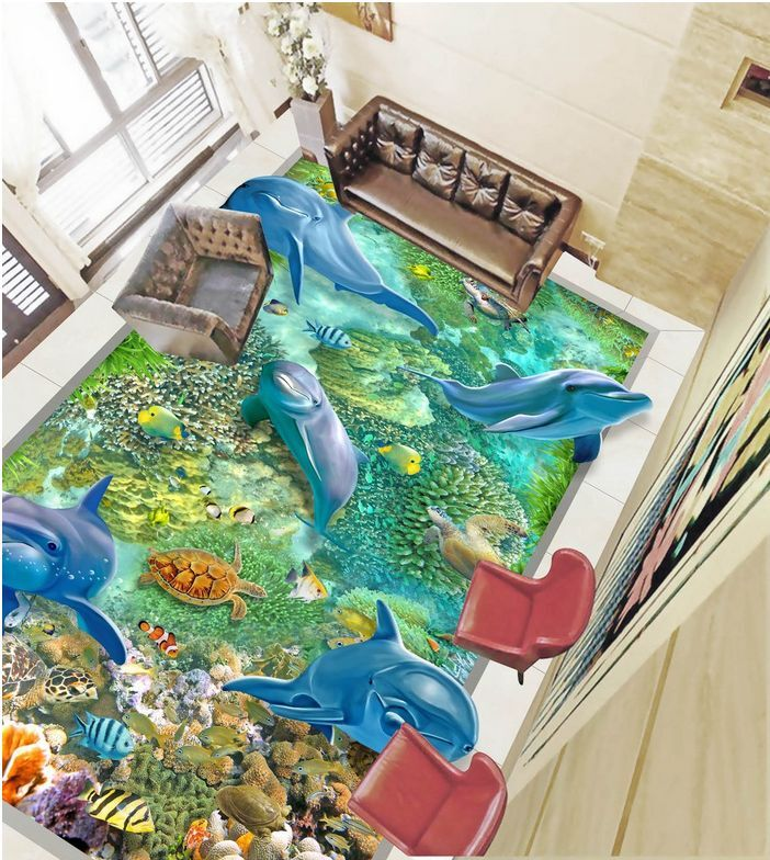 3D fish sea water 0695 Paper Wall Print Decal Wall Deco Wall Murals AJ WALLPAPER